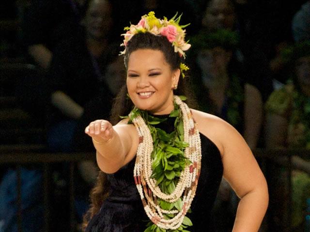 Miss Aloha Hula 2009 - Cherissa Henoheanapuaikawaokele Kane